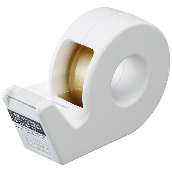 コクヨKOKUYOテープカッターハンディタイプ小巻きカルカット白T-SM300W