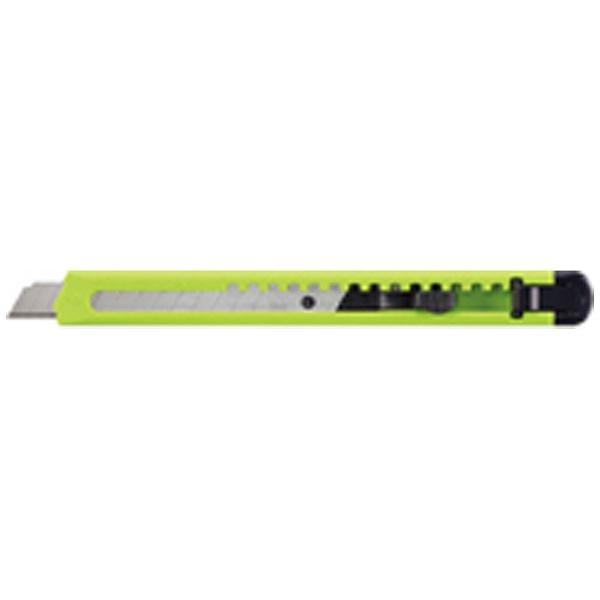 コクヨKOKUYO[カッターナイフ]カッターナイフ標準型黄緑HA-2YG