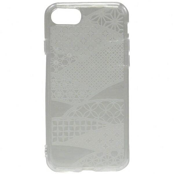 OWLTECHオウルテックiPhone7用gufoTPUケースクリアストラップホール付切子硝子OWL-CVIP716KG-CL