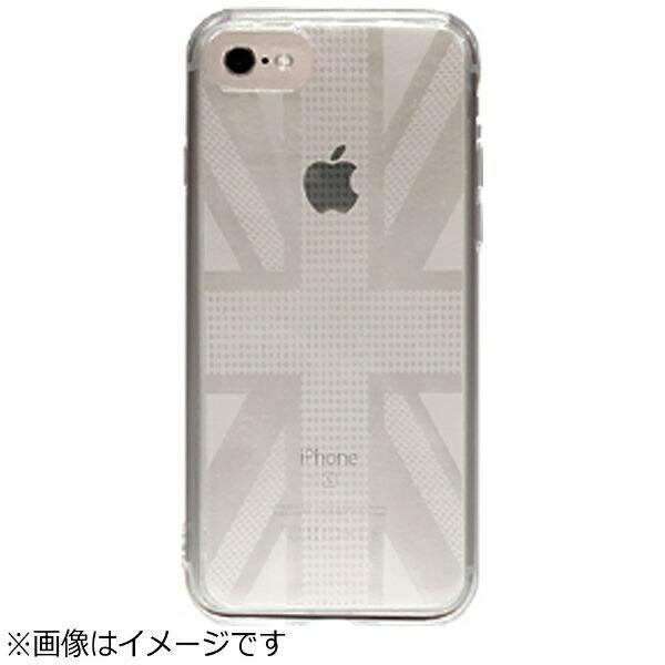 OWLTECHオウルテックiPhone7Plus用gufoTPUケースクリアストラップホール付ユニオンジャックOWL-CVIP7P16UJ-CL