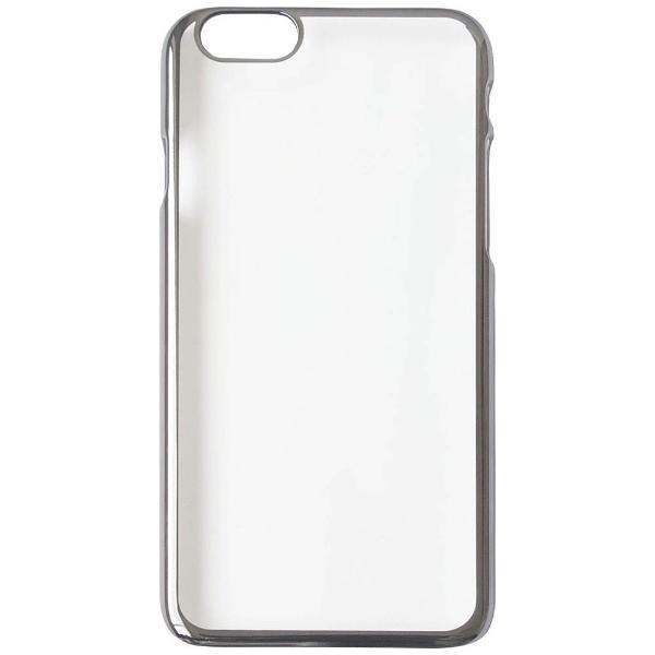 OWLTECHオウルテックiPhone7Plus用PCケース無地ガンメタルグレーOWL-CVIP7P17PL-GM