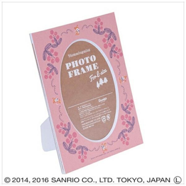 ナカバヤシNakabayashiハミングミントVカットマット台紙L判収納(ピンク)DGVMHML2