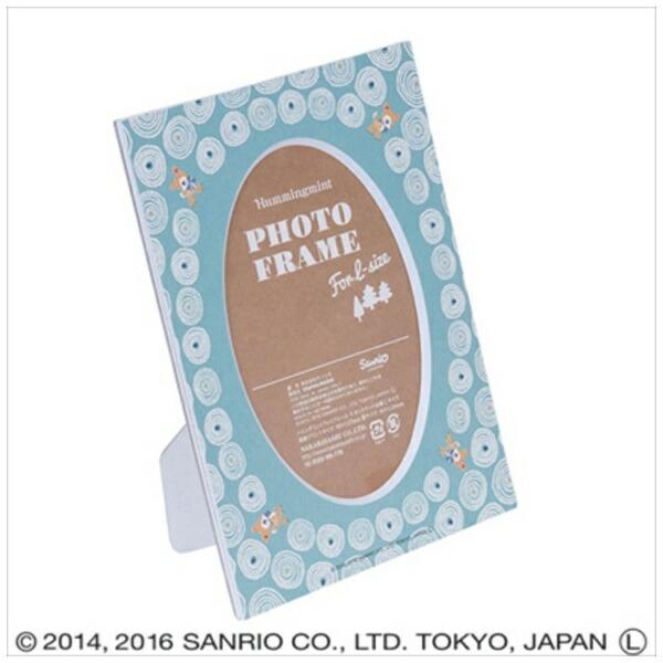 ナカバヤシNakabayashiハミングミントVカットマット台紙L判収納(ブルー)DGVMHML3