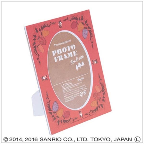ナカバヤシNakabayashiハミングミントVカットマット台紙L判収納(レッド)DGVMHML4