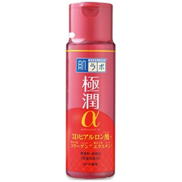 ロート製薬ROHTO肌研(ハダラボ)極潤α3Dヒアルロン酸保湿化粧水(170ml)[化粧水]【wtcool】