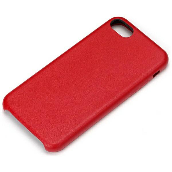 PGAiPhone7用PUレザーケースワインレッドPG-16MPU02RD