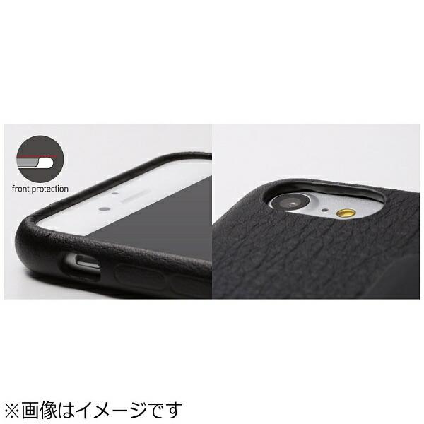 DEFFディーフiPhone7Plus用レザーケースRONDASpanishLeatherCaseジャケットタイプグレージュDCS-IP7PRABSLGE