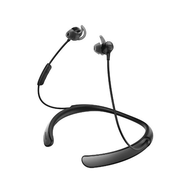BOSEボーズブルートゥースイヤホンカナル型QuietControl30wirelessheadphonesブラックBLKQC30[リモコン・マイク対応/ワイヤレス(ネックバンド)/Bluetooth/ノイズキャンセリング対応][BOSEボーズワイヤレスイヤホン]