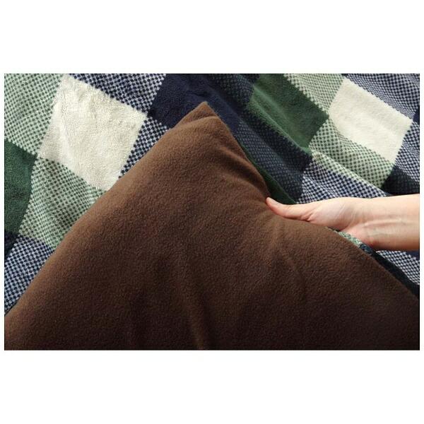 イケヒコIKEHIKO5891469こたつ布団カバーJarnal(ジャーナル)グリーン[対応天板サイズ:約75×75cm/正方形]