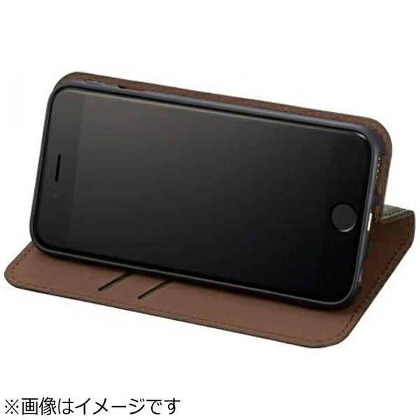 サンクレストSUNCRESTiPhone7用手帳型BZGLAMカモフラージュダイアリーカバーグリーンiP7-BZ01