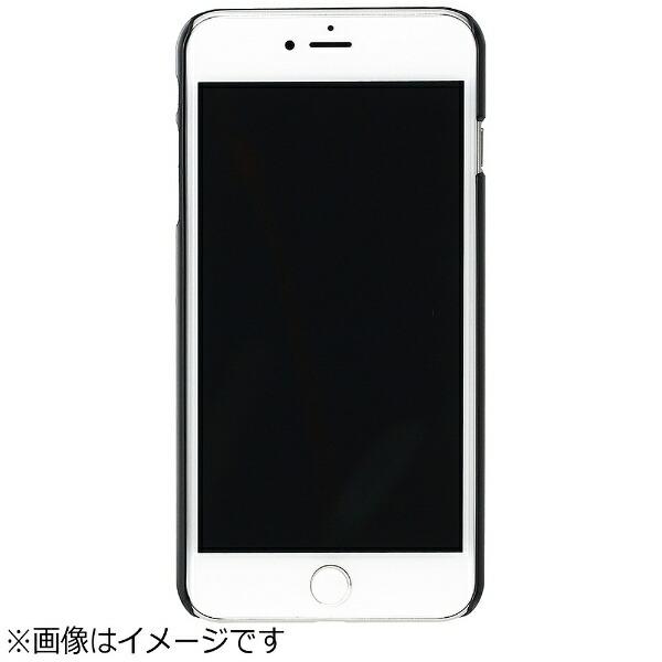 ROAロアiPhone7用天然木ケースDoveブラックフレームMan&WoodI8076i7