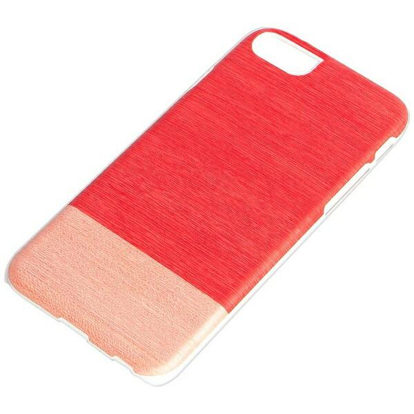 ROAロアiPhone7用天然木ケースLittlepeachホワイトフレームMan&WoodI8075i7