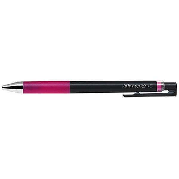 パイロットPILOT[ゲルインキボールペン]ジュースアップ03激細(ボール径:0.3mm)インク色:ピンクLJP-20S3-P