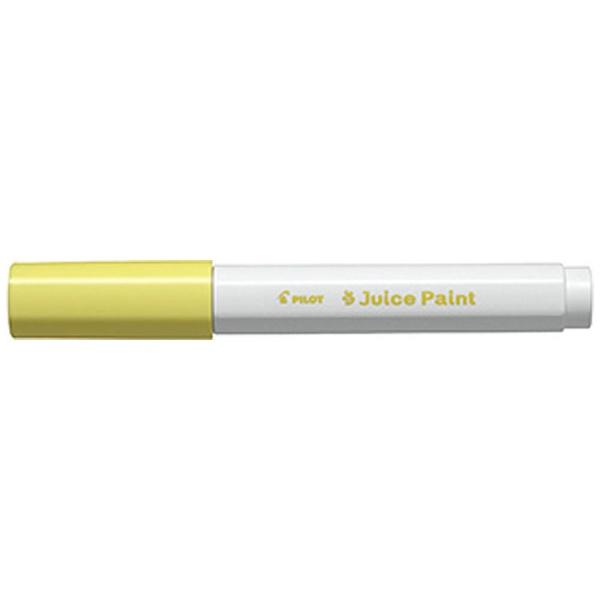 パイロットPILOT[水性マーカー]ジュースペイント細字パステルイエローSJP-20F-PY