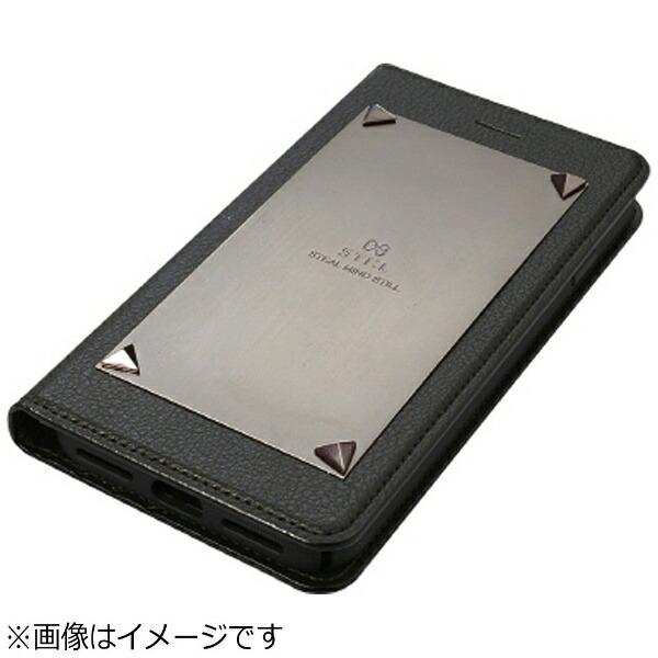ROAロアiPhone7用手帳型LOVETRIANGLEブラックSTI:LST8183i7
