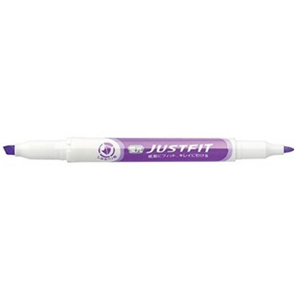 ゼブラZEBRA[蛍光ペン]ジャストフィット紫WKT17-PU