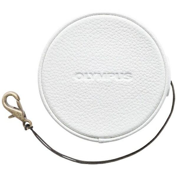 オリンパスOLYMPUS本革レンズジャケット(ホワイト)LC-60.5GLWHT[LC605GLWHT]
