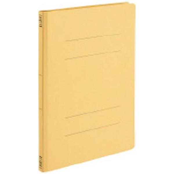コクヨKOKUYO[ファイル]フラットファイルV樹脂製とじ具A4縦15mmとじ黄フ-V10Y
