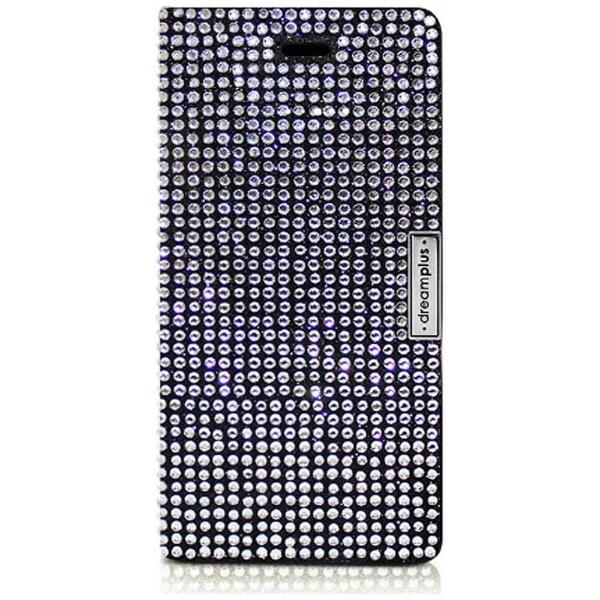 ROAロアiPhone7用手帳型レザーケースPersianLeatherDiaryブラックdreamplusDP61755i7