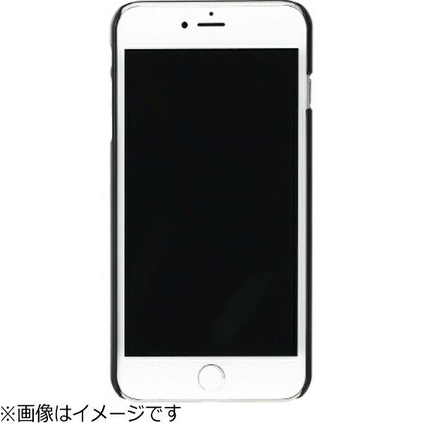 ROAロアiPhone7Plus用天然木ケースBambooForestブラックフレームMan&WoodI8083i7P