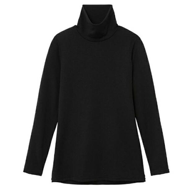ミズノmizunoレディースブレスサーモエブリプラスハイネック長袖シャツ(Mサイズ/ブラック)C2JA684209