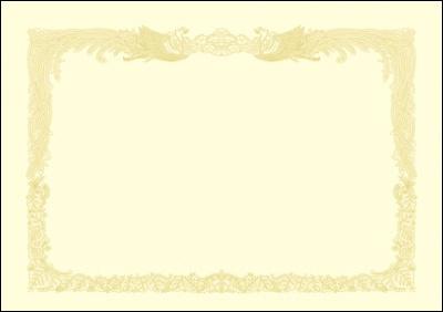 ササガワSASAGAWA厚口OA賞状用紙B4判縦書用100クリーム10-1377