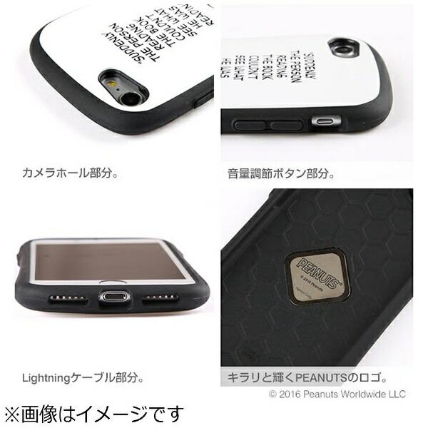 HAMEEハミィiPhone7用PEANUTS/ピーナッツiFaceFirstClassケーススヌーピー/サーモンピンク