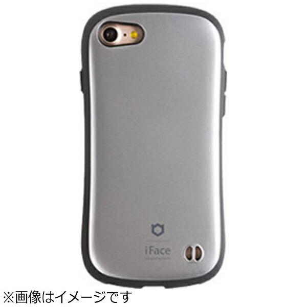 HAMEEハミィiPhone7用iFaceFirstClassMetallicケースシルバー