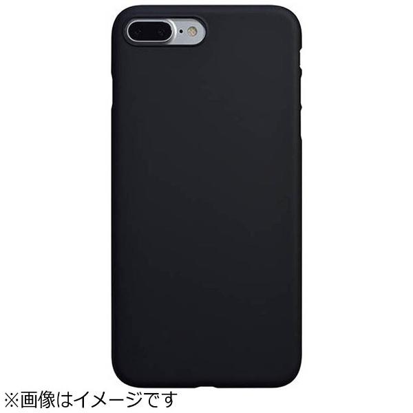 パワーサポートPOWERSUPPORTiPhone7Plus用エアージャケットセットラバーブラックPBK-72