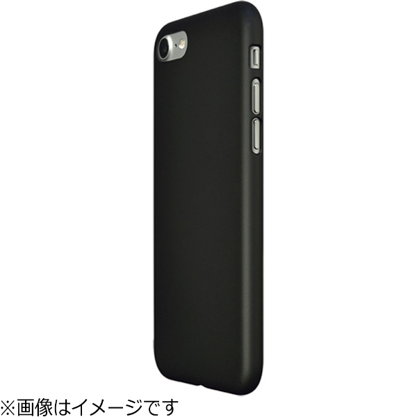 パワーサポートPOWERSUPPORTiPhone7用エアージャケットセットラバーブラックPBY-72