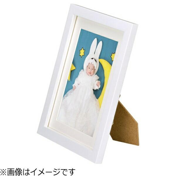 ハクバHAKUBA木製額縁(2Lサイズ/ホワイト)FWMM01-WT2L[FWMM01WT2L]