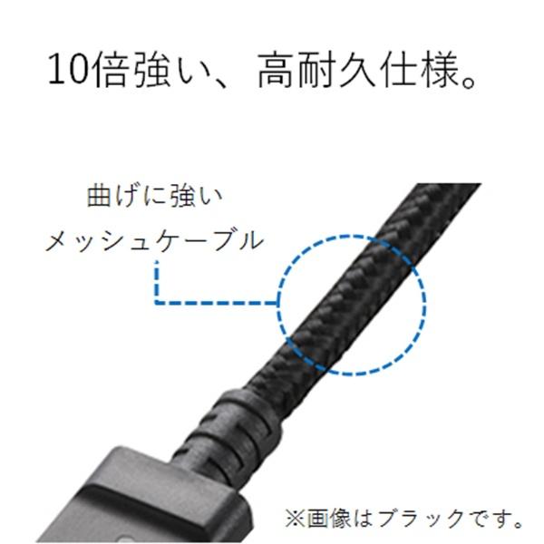 エレコムELECOM[microUSB]USBケーブル充電・転送2A(2m・レッド)MPA-AMBS2U20RD[2.0m]