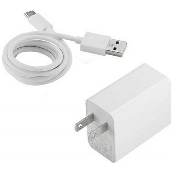 ASUSエイスース[Type-C]AC-USB-A充電器+Type-C⇔USB-Aケーブルコード長(ホワイト)90AC0210-BPW001