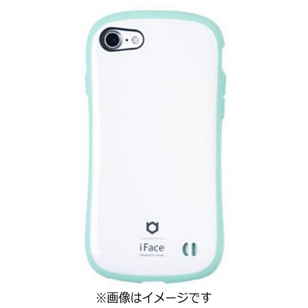 HAMEEハミィiPhone7用ifaceFirstClassPastelケースホワイト/ミント