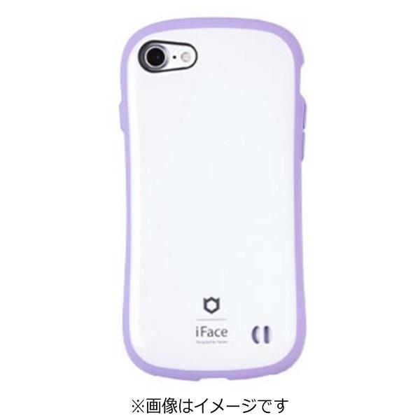 HAMEEハミィiPhone7用ifaceFirstClassPastelケースホワイト/パープル