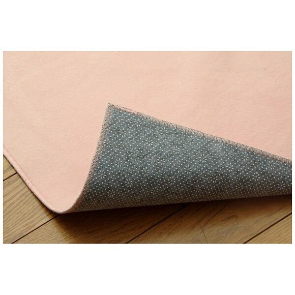 イケヒコIKEHIKOラグイーズ(130×185cm/ピンク)