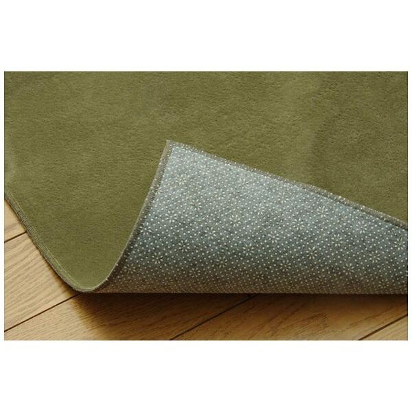 イケヒコIKEHIKOラグイーズ(130×185cm/グリーン)