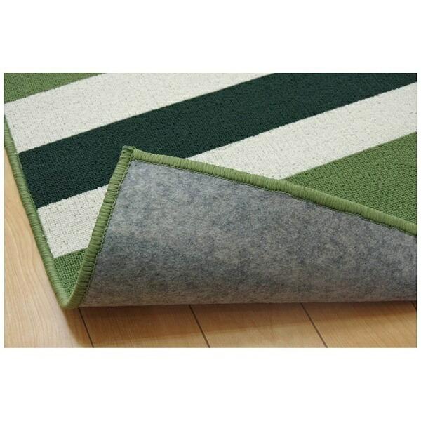 イケヒコIKEHIKOデスクカーペットセグリア(110×133cm/グリーン)
