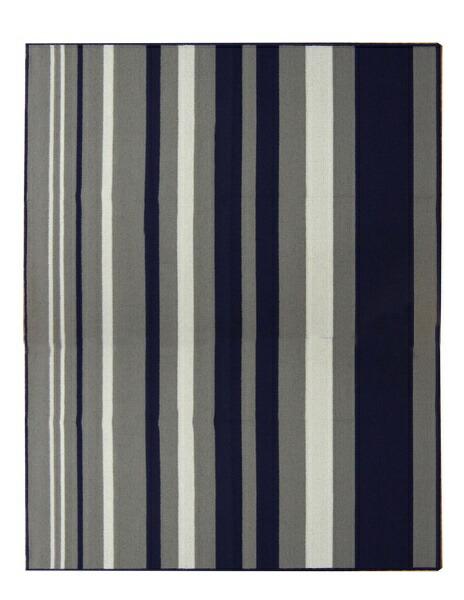 イケヒコIKEHIKOデスクカーペットセグリア(133×170cm/ネイビー)