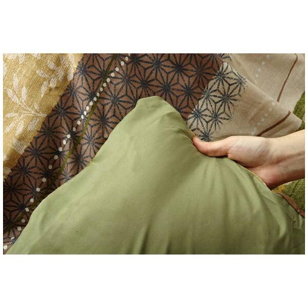 イケヒコIKEHIKO5097269こたつ布団カバーこよみグリーン[対応天板サイズ:約90×90cm/正方形]