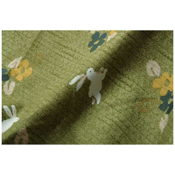 イケヒコIKEHIKO5097289こたつ布団カバーこよみグリーン[対応天板サイズ:約90×135cm/長方形]