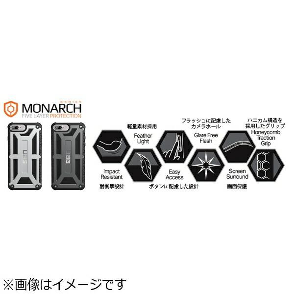 UAGURBANARMORGEARiPhone7Plus用MonarchCaseグラファイトURBANARMORGEARUAG-RIPH7PLS-P-BLK