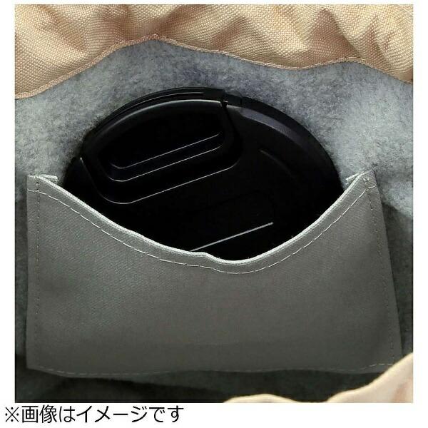 山田屋写真用品帆布カメラ巾着L(ピンクベージュ)CDBLSCPB