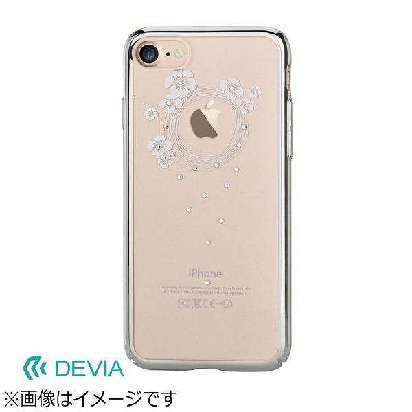 BELEXビーレックスiPhone7用DeviaCrystalGarlandシルバーBLDVCS7009SL