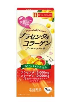 常盤薬品TOKIWAPharmaceuticalBEAUPOWERプラセンタコラーゲンゼリー7本【wtcool】