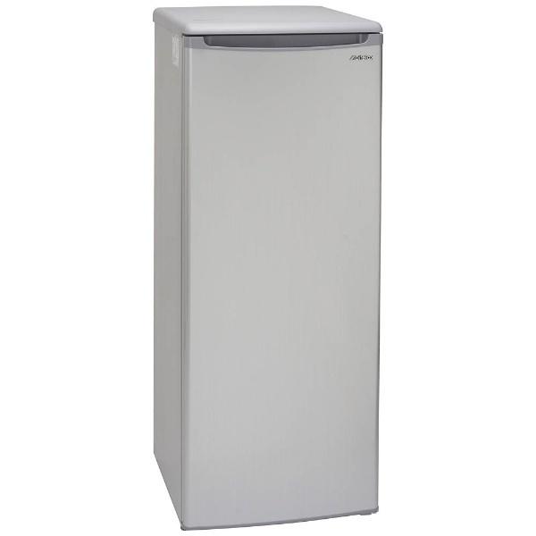 アビテラックスAbitelax冷凍庫シルバーストライプACF-112FE[1ドア/右開きタイプ/107L][ACF112FE]