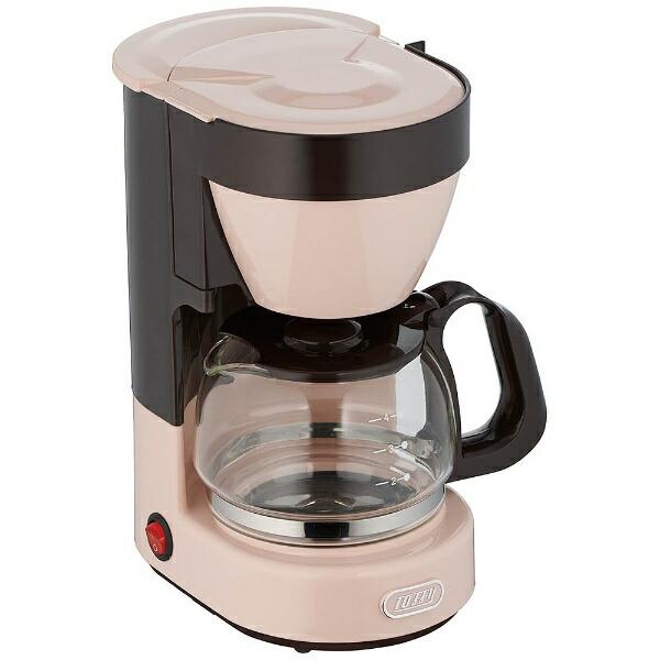 ラドンナLADONNAコーヒーメーカーToffySEHLLPINKK-CM1-SP[おしゃれKCM1]
