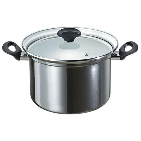 高木金属工業ホーロー深型鍋「オニキス」(6.3L)ON-22F[ON22Fフカガタナベ22]