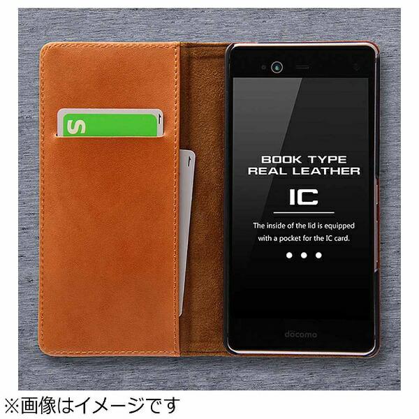 レイアウトrayoutarrowsNXF-01J用手帳型ケース本革ブラックRT-ARJ1RLC1/B