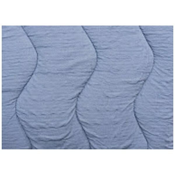 フランスベッドFRANCEBED【ベッドパッド/ボックスシーツ】クラウディアベッドパッド&マットレスカバー(シングルサイズ/97×195cm/ブルー)フランスベッド